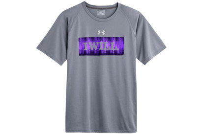 Under Armour Tech I Will S/S Training T-Shirt Steel/White product image