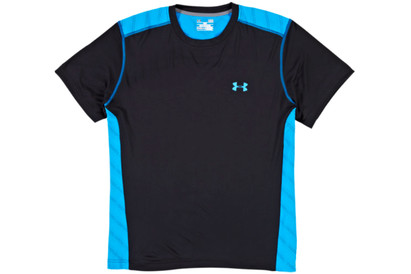 Under Armour Vent S/S Training T-Shirt Black/Electric Blue product image