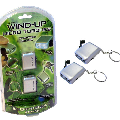 Wind Up Micro Torches