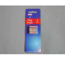 Plug Top Fuse Pack DISC 4 Pack 2407
