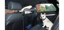 Universal Car Front Seat Pet Barrier Pop-up wire frame design, folds for easy storage. Easy to fit - no tools required. DIRECT DESPATCH: These items will be sent direct from the manufacturer to your specified address. Please allow 10 days for deliver - CLICK FOR MORE INFORMATION