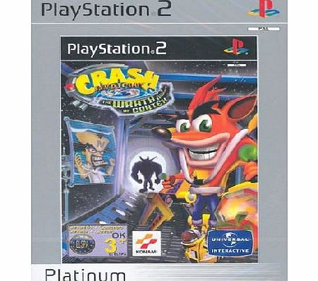 Crash Bandicoot Wrath of Cortex Platinum for PS2 - CLICK FOR MORE INFORMATION