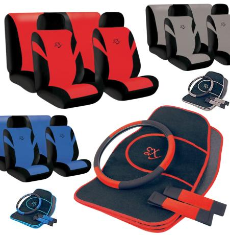 Universal Car Seat Cover Set Available in Red - CLICK FOR MORE INFORMATION