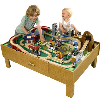 Universe Of Imagination City Train Table And Railway Set