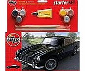 Airfix A50089 Aston Martin Db5 1:32 Scale Classic Car Category 2 Gift Set