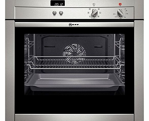 Unknown Neff B44M42N3GB Stainless Steel Electric Built-in Single Oven product image