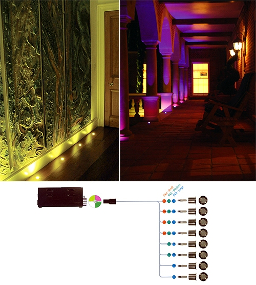deck lighting kits
