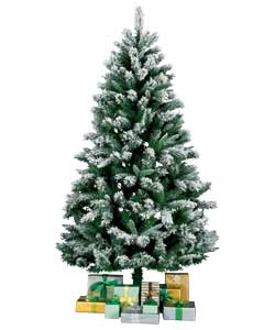 Unbranded 1.8m / 6ft Blizzard Alpine Fir Tree