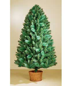 1.8m/6ft Rocky Ridge Blue Tree with Basket