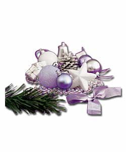 100 Piece Pastel Decoration Kit Christmas Decoration