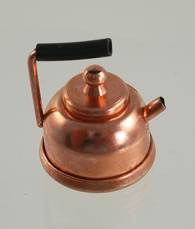 1:12 Scale Doll House Miniature Copper Kettle