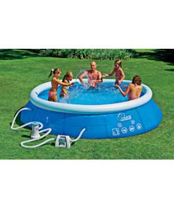 12ft quick up pool set review compare prices buy online. Black Bedroom Furniture Sets. Home Design Ideas