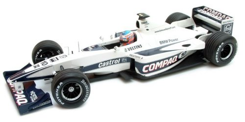 1:43 Scale Williams BMW  FW22 J.Button Race Car