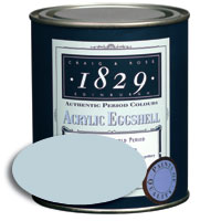 1829 Georgian Regency Period Acrylic Eggshell Swedish