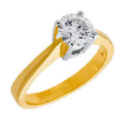 Unbranded 18Ct 1 carat diamond ring N