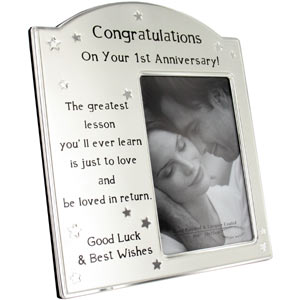 Wedding Gifts For Jiju : ... gift for this special celebratory wedding anniversary.The 1st Wedding