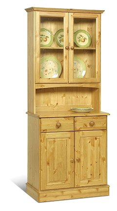 2 Door Glazed Top Dresser - Sherwood