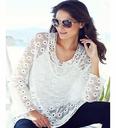 Unbranded 2-Piece Lace Tunic Set