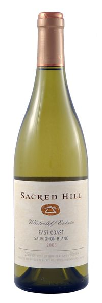 2006 Sauvignon Blanc - Whitecliffe Vineyards - Sacred Hill product image