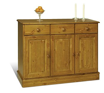 3 Door Dresser Base - Sherwood