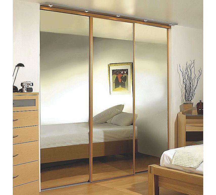 4 Door Wardrobe With Mirrors