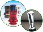 Anodised staybrite aluminium Screws directly to bottom of Richbrook Touring gear knob- Momo-