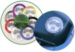 Richbrook Anodised Aluminium Tax Disc Holder (Green). All prices include VAT at 17.5%