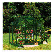 10 x 15 ft. Aluminum Frame Greenhouse, Tempered Glass Panels