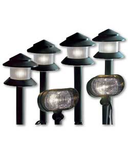 6 Piece Low Voltage Garden Lighting Kit Garden Light Review Compare Prices