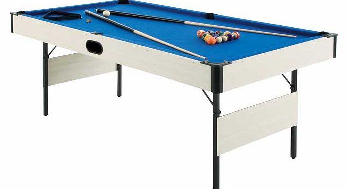 6ft Folding Pool Table With Ball Return 6ft Folding Pool