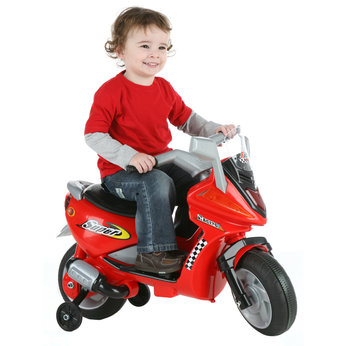 Motor Scooters Review on 6v Super Motor Scooter   Red   Review  Compare Prices  Buy Online