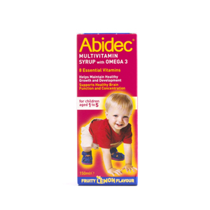 Abidec Multivitamins Syrup With Omega 3 is a delicious way of delivering essential vitamins and omeg - CLICK FOR MORE INFORMATION