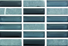 Create a luxurious feature in your home with Accord Coal Mine MosaicThis beautiful mosaic is ideal for giving a modern twist to the average kitchen or bathroomAccord Coal Mine Mosaic combines a rustic and gloss finish creating depth and style in your