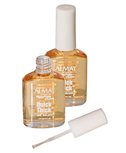 Another miracle in a pot from Almay - this one gives you 58% thicker nails in 8 days. Paint it on - CLICK FOR MORE INFORMATION