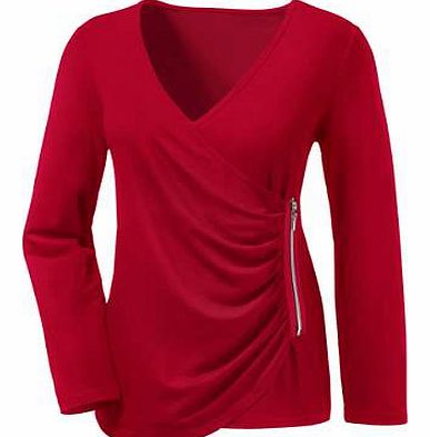 Unbranded Ambria Long Crossover Top