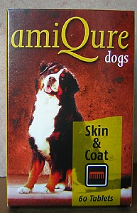 amiQure Skin and Coat Tablets for Dogs product image