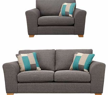 Ashdown large sofa and snuggler grey review compare for Big sofa technologies