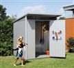 Avantgarde Medium Shed (180W cm x 220D cm x 218H cm) hot-dipped galvanised quality heavy duty steel,