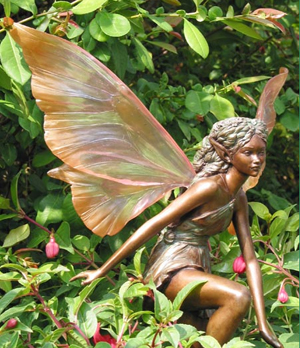 awen of the orchard woodland garden fairy statue other