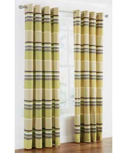 Green Ticking Stripe Curtain from Sears.com