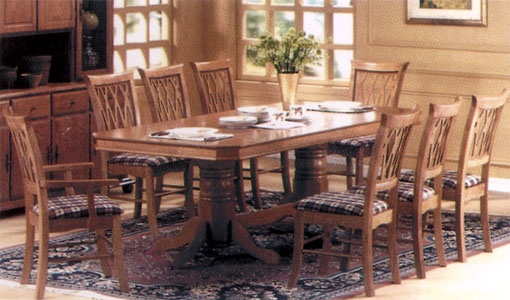 Belmont Dining Set fixed Top