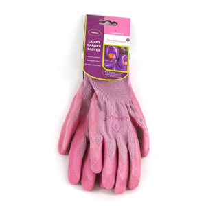 Do you gardening in style with these attractive ladies gardening gloves.