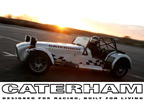 With its light weight, high power and superlative handling the Caterham 7 is the ideal car in which