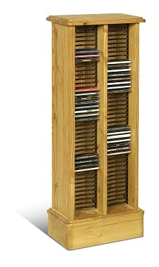 CD Storage Cabinet with Racking - Sherwood