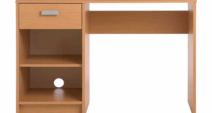 ABC Home Scandinavian Style Wall Unit With 5 Shelves Natural