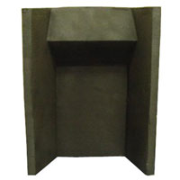 Dimensions: H 575 x W 440 x D 210 mm, For use with Ophelia and Theydon Gas Suites, Check with your