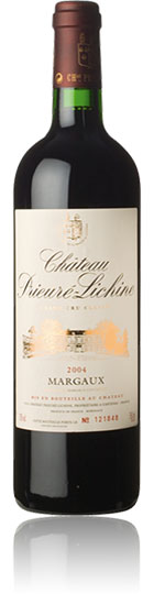`A sleeper of the vintage, the deep ruby/purple-tinged 2004 Prieure-Lichine is all about finesse and