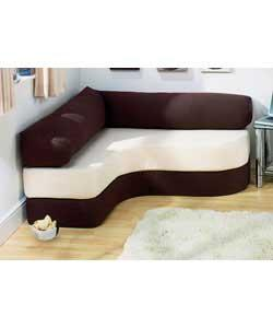 Homebase - Lia Foam Fold Out Sofabed - Chocolate. customer reviews