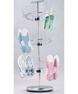 Chrome Finish 3 Tier Shoe Stand product image