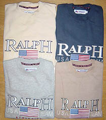 Clearance! - Ralph Athletics `SA Team`Logo Sweatshirt product image